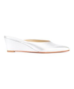 Rachel Comey   Pointed Toe Mules 7 Leather