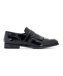 Santoni | Brogue Stitching Monk Shoes Men