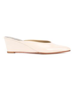 Rachel Comey   Wedged Mules 10 Patent Leather
