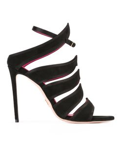 Oscar Tiye | Strappy Sandals 35 Suede/Leather