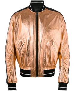 Haider Ackermann | Bomber Jacket Small Leather/Cotton/Rayon
