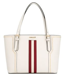 Bally | Stripe Studded Tote Bag Leather