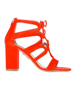 Aquazzura | Holli Sandals 37 Calf Leather/Leather