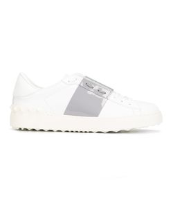 Valentino | Garavani Open Sneakers 37.5 Leather/Patent Leather/Rubber