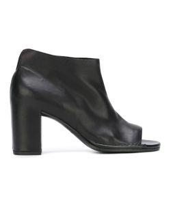 Roberto Del Carlo | Open Toe Boots Calf
