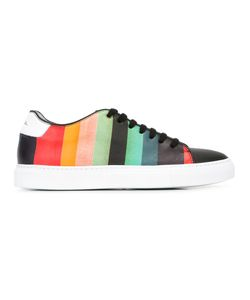 Paul Smith | Rainbow Stripe Sneakers 38 Calf Leather/Leather/Rubber