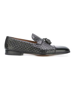 Doucal's | Interlaced Tassel Loafers 44 Leather
