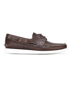 Church'S | Edibo Marske Boat Shoes 7.5 Calf Leather/Leather/Rubber