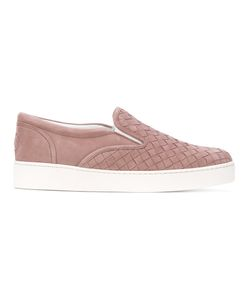 OUTSOURCE IMAGES | Woven Effect Slip-On Sneakers