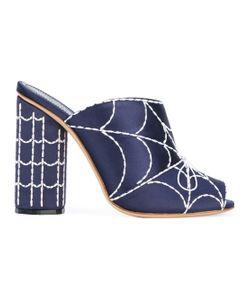Marco De Vincenzo | Embellished Satin Sandals