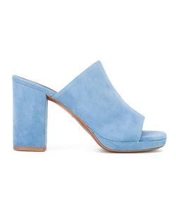 Robert Clergerie | Abrice Block Heel Mules Size 39