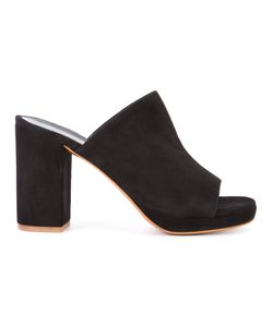 Robert Clergerie | Abrice Mules 36 Suede/Leather