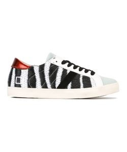 D.A.T.E. | Zebra Print Sneakers 40 Cotton/Leather/Rubber