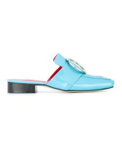 DORATEYMUR | Embellished Mules 37 Patent Leather/Leather