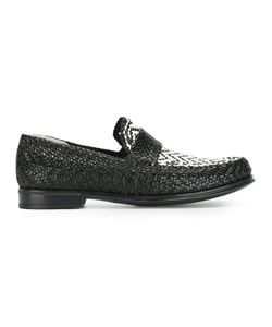 Dolce & Gabbana | Woven Loafers 41.5 Leather/Rubber