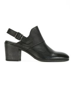 Pantanetti | Buckled Mules 38.5 Calf Leather/Leather