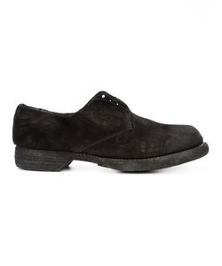 GUIDI | Chunky Derby Shoes 38