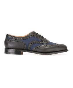 Church'S   Burwood Brogues 7.5 Leather/Cotton