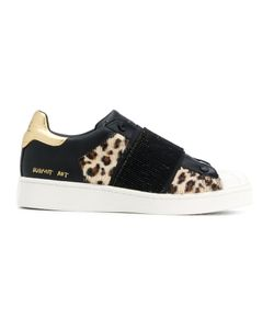 MOA MASTER OF ARTS | Leopard Print Slip-On Sneakers Women