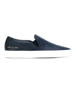 Common Projects | Perforated Slip On Sneakers