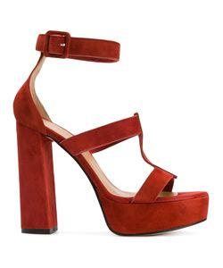Marc Ellis   Ankle Strap Platform Sandals Size 40