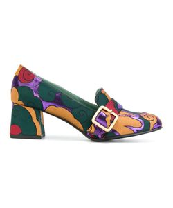 PAOLA D'ARCANO | Printed Buckled Pumps Women