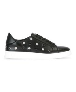 Versus | Lion Head Studs Trainers 38 Calf Leather/Metal/Rubber