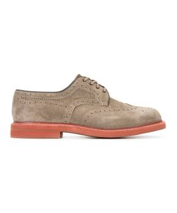 Church'S | Lace-Up Derby Shoes 7.5 Suede/Leather/Rubber