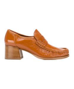 LATHBRIDGE BY PATRICK COX | Stacked Heel Loafers Size 40