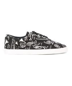 Dolce & Gabbana | Jazz Club Print Sneakers Size 39