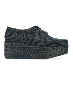 Robert Clergerie | Pinto Platform Lace-Up Shoes Size 38.5