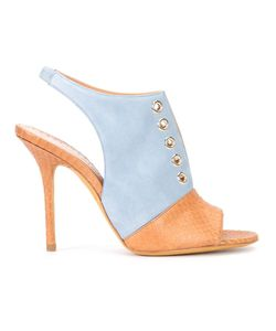 Alexa Wagner | Bar Sandals 39 Suede/Leather