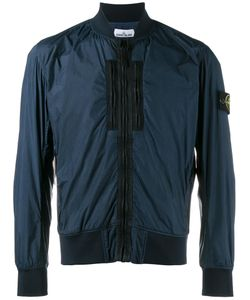 Stone Island | Zipped Lightweight Jacket Xxl Cotton/Polyimide/Polyurethane Resin
