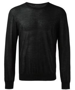 Calvin Klein Collection | Crew Neck Jumper Large Cashmere