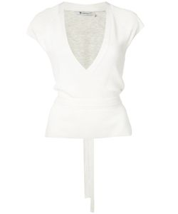 T By Alexander Wang | Wrap Style Knit Top