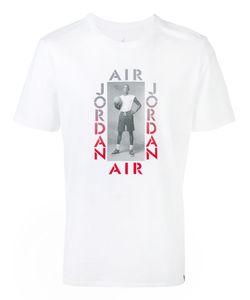 Nike | Футболка С Принтом Jordan