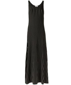 AMIR SLAMA | Striped Long Dress P Cotton