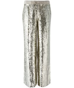 P.A.R.O.S.H. | Sequin Trousers Xs Viscose/Pvc