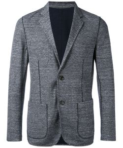 Paolo Pecora | Textured Patch Pocket Blazer