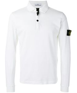 Stone Island | Long-Sleeve Polo Shirt Size Small