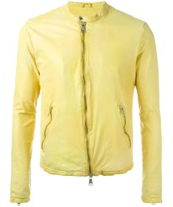 Giorgio Brato | Zipped Jacket 52 Leather/Cotton