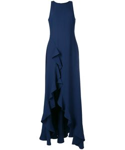 Zac Zac Posen | Ruffle Slit Gown Size