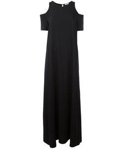 P.A.R.O.S.H. | Long Cold Shoulder Dress Medium Polyester