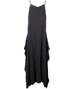 DUSAN | Fla Spaghetti Straps Dress Linen/Flax