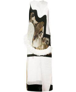 ANNE SOFIE MADSEN   Sleeveless Contrast Panel Dress Small