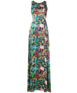 Ultràchic | Neon Print Dress 44 Silk/Spandex/Elastane