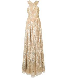 Marchesa Notte | Платье С Цветочной Отделкой