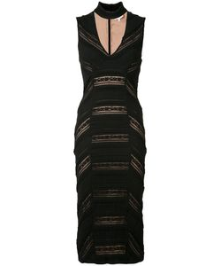 Cinq A Sept | Plunging V-Neck Fitted Dress 8