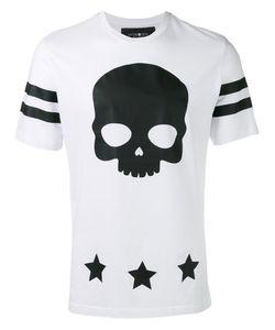 Hydrogen | Skull Print T-Shirt Medium Cotton