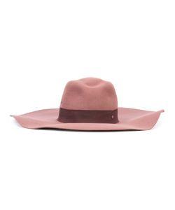 Maison Michel | Wide Brim Hat Size Large